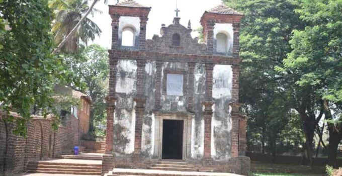 St. Catherine Chapel, Chapel of St Catherine Old Goa