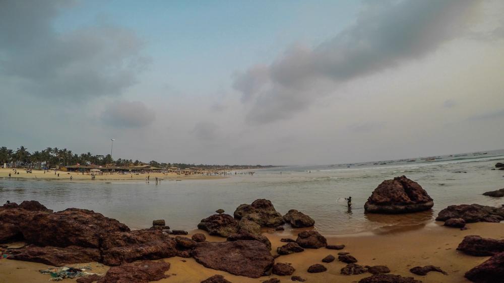 Baga Beach, Baga Beach Goa, Famous beach in Goa